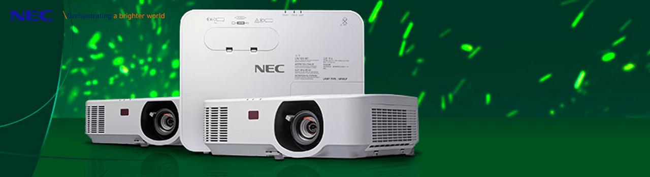 NEC stille projector