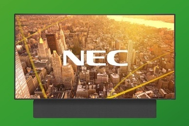 NEC high-end soundbar systeem