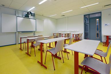 Projectinrichting bij Christelijk College Groevenbeek Ermelo