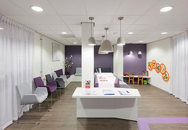 Kantoorinrichting bij Gezondheid Centrum Harderwijk