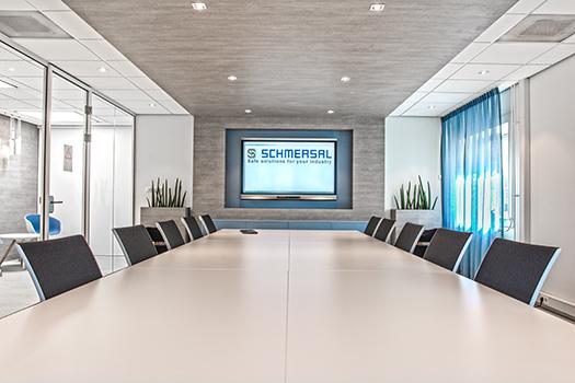 Nieuwe kantoorinrichting voor schmersal nederland wuestman projectinrichting - Professionele kantoorinrichting ...